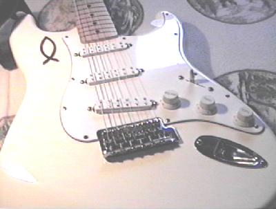 Fender Stratocaster- a very versitile guitar with modifications.